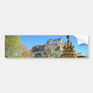 Edinburgh Castle, Scotland Bumper Sticker