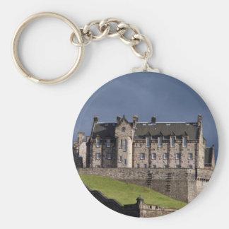 edinburgh castle scotland keychain