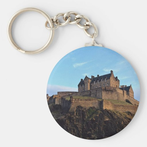 Edinburgh Castle, Scotland Keychains