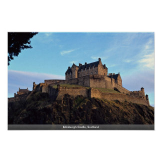 Edinburgh Castle, Scotland Poster