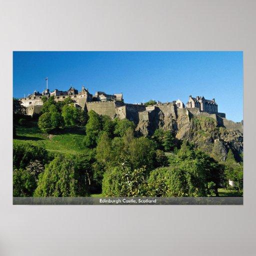 Edinburgh Castle, Scotland Print