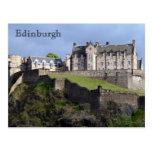 edinburgh castle scots postcards