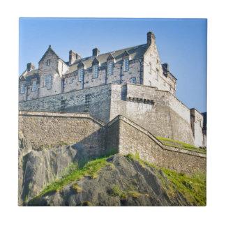 Edinburgh Castle Small Square Tile