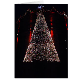 Edinburgh Christmas Tree Card