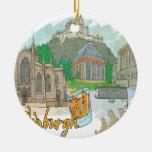 Edinburgh Christmas Tree Ornaments
