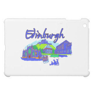 edinburgh city blue travel vacation image.png case for the iPad mini