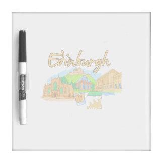 edinburgh city orange travel vacation image.png dry erase whiteboard