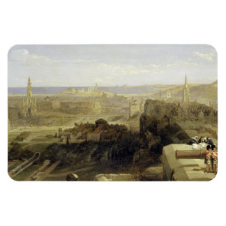 Edinburgh from the Castle 1847 Magnets