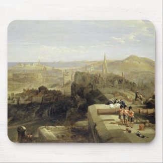 Edinburgh from the Castle 1847 Mouse Pad