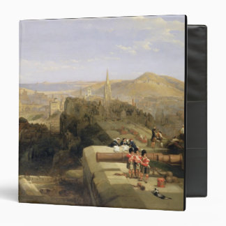 Edinburgh from the Castle, 1847 (oil on canvas) Binders