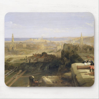 Edinburgh from the Castle, 1847 (oil on canvas) Mouse Pad