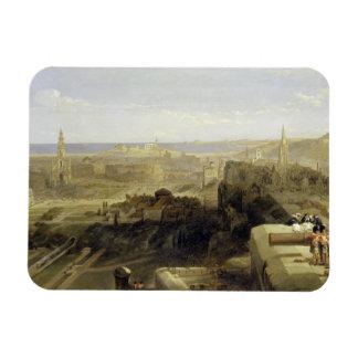 Edinburgh from the Castle 1847 Vinyl Magnets