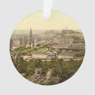 Edinburgh from the Castle, Scotland