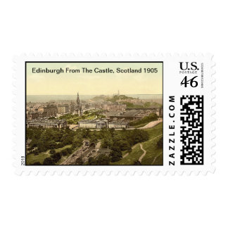 Edinburgh From The Castle, Scotland 1905 Stamps