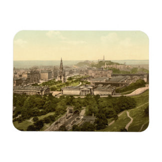 Edinburgh from the Castle, Scotland Magnet