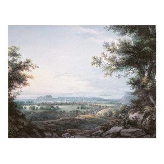 Edinburgh from the South, 18th century Postcard
