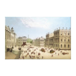 Edinburgh in the 19th Century Gallery Wrap Canvas