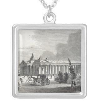 Edinburgh: Royal Institution and Scott Square Pendant Necklace