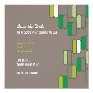 Edinburgh Save the Date: Grassy Card