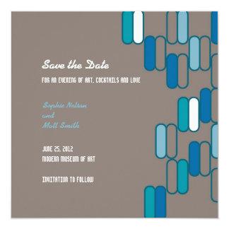 Edinburgh Save the Date: Ocean Card