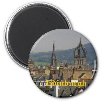 Edinburgh, Scotland 2 Inch Round Magnet