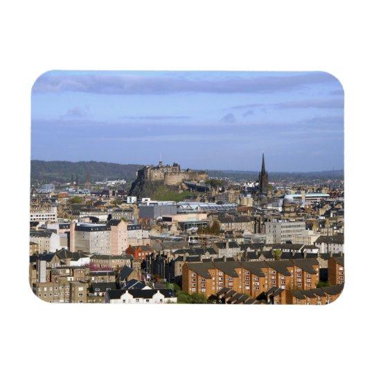 Edinburgh, Scotland. A view overlooking central Magnet