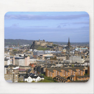Edinburgh, Scotland. A view overlooking central Mouse Pad