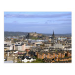 Edinburgh, Scotland. A view overlooking central Post Card