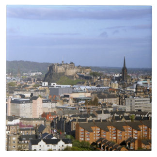 Edinburgh, Scotland. A view overlooking central Tile