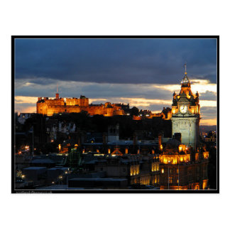 Edinburgh Scotland Postcard