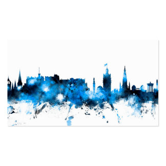 Edinburgh Scotland Skyline Business Card