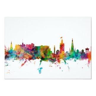 Edinburgh Scotland Skyline Card