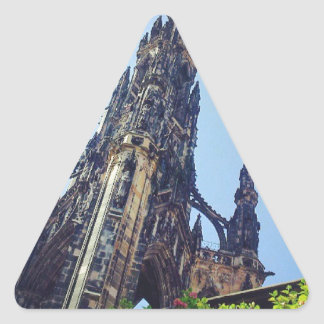 Edinburgh Scott's Monument Triangle Sticker
