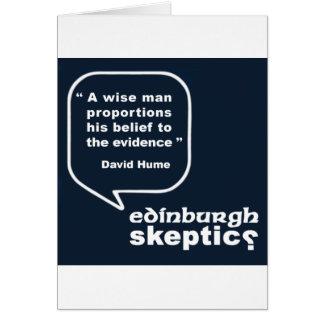 Edinburgh Skeptics - Hume Quote Cards
