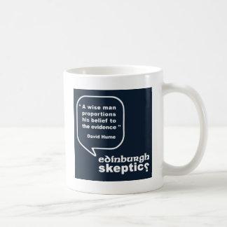 Edinburgh Skeptics - Hume Quote Coffee Mug