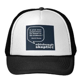 Edinburgh Skeptics - Hume Quote Trucker Hat