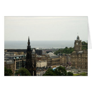 Edinburgh Skyline 001 Card