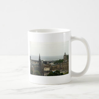 Edinburgh Skyline 001 Coffee Mugs