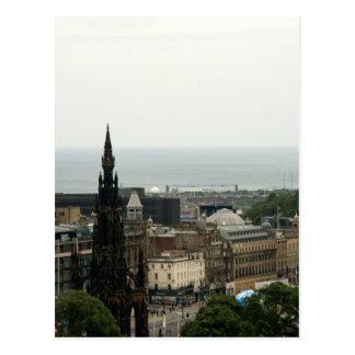 Edinburgh Skyline 001 Postcard
