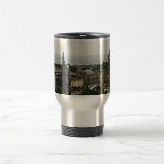 Edinburgh Skyline 001 Travel Mug