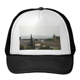 Edinburgh Skyline 001 Trucker Hat