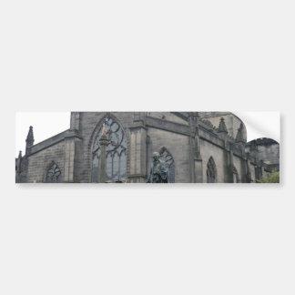Edinburgh's St Giles Cathedral Car Bumper Sticker