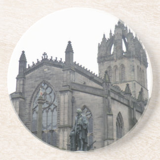 Edinburgh's St Giles Cathedral Beverage Coasters