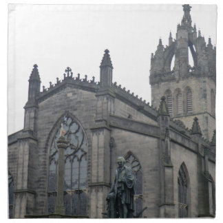 Edinburgh's St Giles Cathedral Cloth Napkin