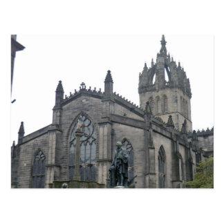 Edinburgh's St Giles Cathedral Postcard