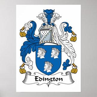 Edington Family Crest Poster