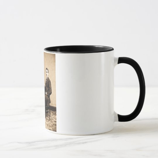 Edison and His Phonograph 1887 Mug