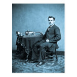 Edison and His Phonograph 1887 Post Cards