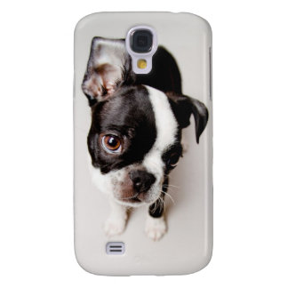 Edison Boston Terrier puppy. Galaxy S4 Case