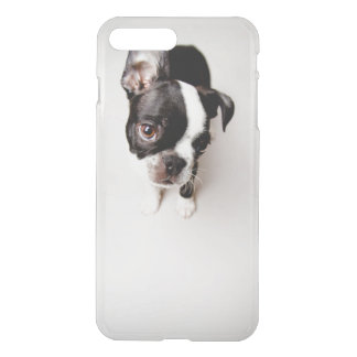 Edison Boston Terrier puppy. iPhone 8 Plus/7 Plus Case